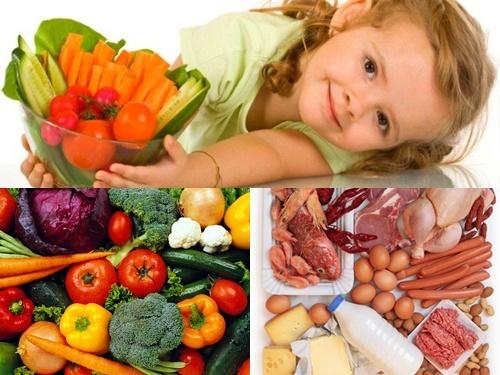 Cách ăn uống khoa học dành cho bé