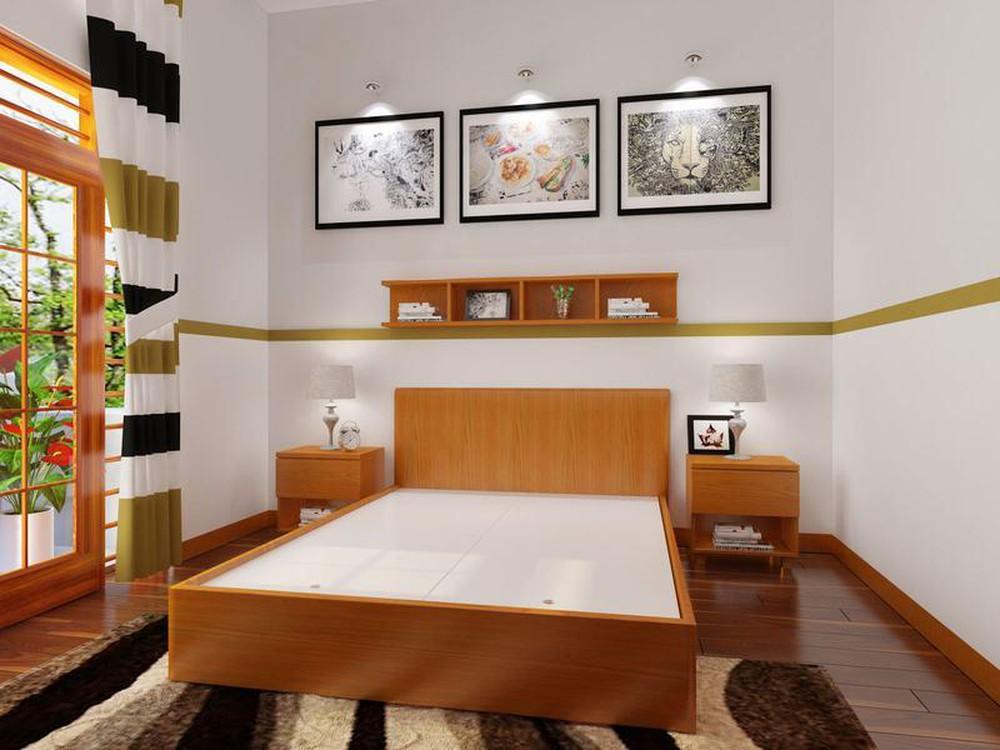 Cách thiết kế, bố trí phòng ngủ có diện tích nhỏ hẹp - Báo Xây Dựng