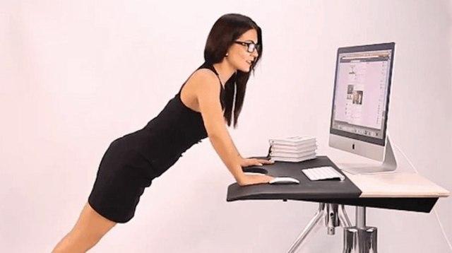 bài tập thể dục cho dân văn phòng