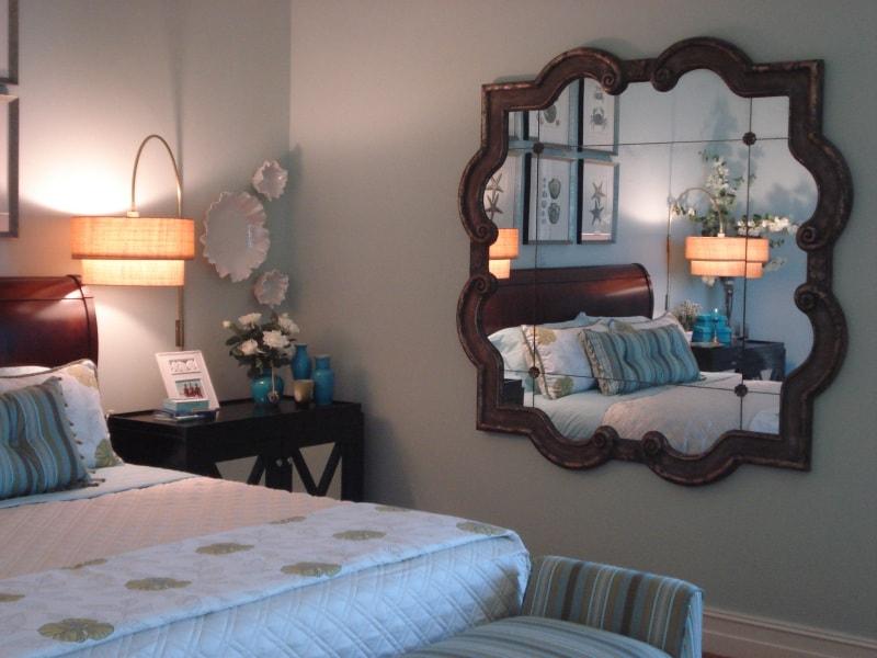 Đặt gương trong phòng ngủ thế nào là hợp phong thuỷ?