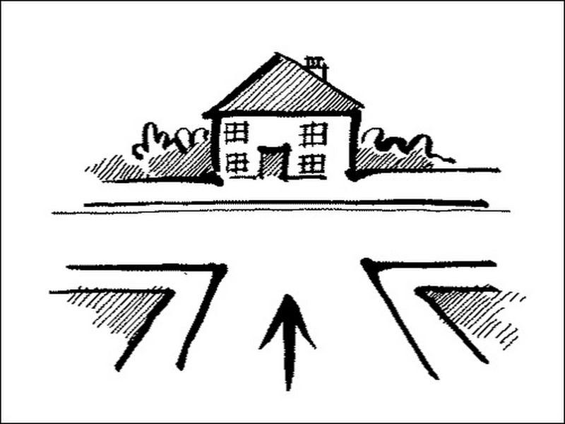 Nhà ở ngã ba, ngã tư đường có phong thủy xấu