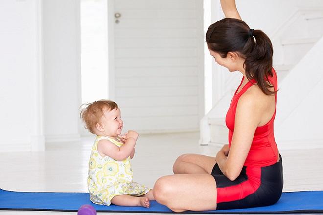 Sinh mổ bao lâu thì được tập thể dục để mẹ nhanh giảm cân lấy lại vóc dáng  thuở con gái
