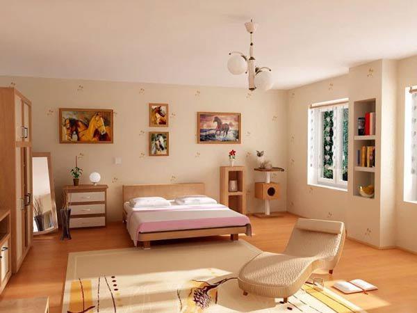 Cách bố trí phòng ngủ hợp phong thủy đơn giản, đẹp, tốt sức khỏe