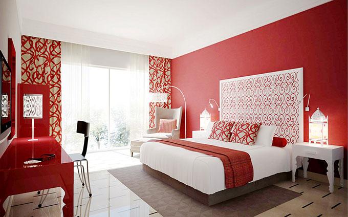 Bộ sưu tập các thiết kế nội thất phòng ngủ màu đỏ đẹp ấn tượng