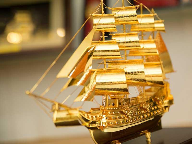Hướng dẫn cách đặt thuyền buồm phong thủy mang tài lộc vào nhà