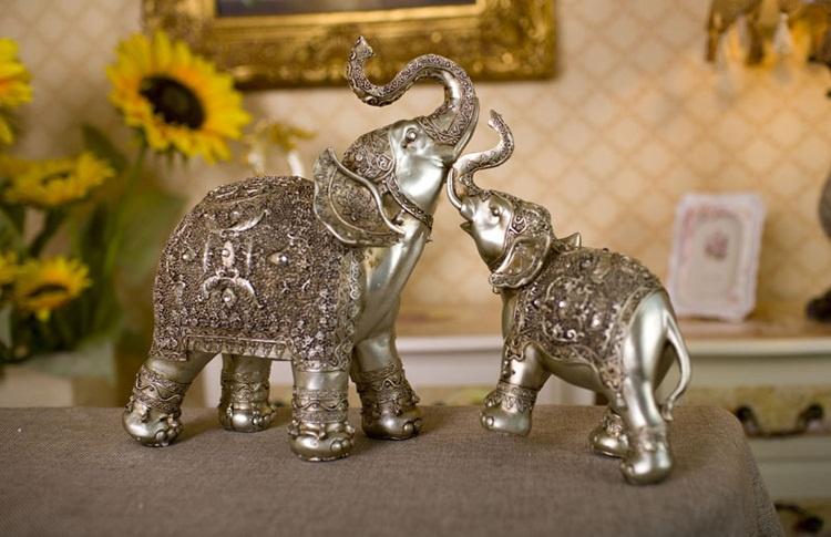 Tổng quan về tượng voi trong phong thủy