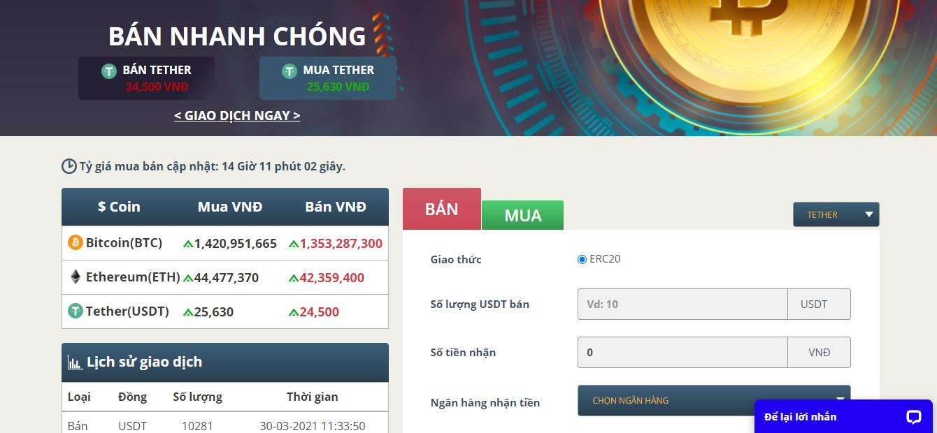 Top 3 sàn mua bán Bitcoin uy tín hàng đầu Việt Nam