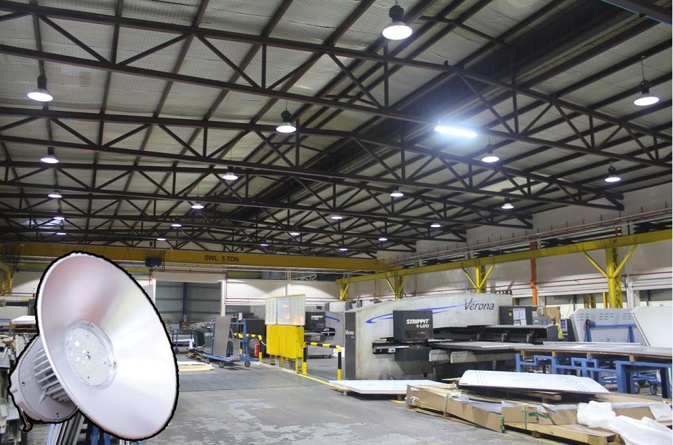 Cách lắp đặt đèn LED nhà xưởng 50w cho nhà xưởng
