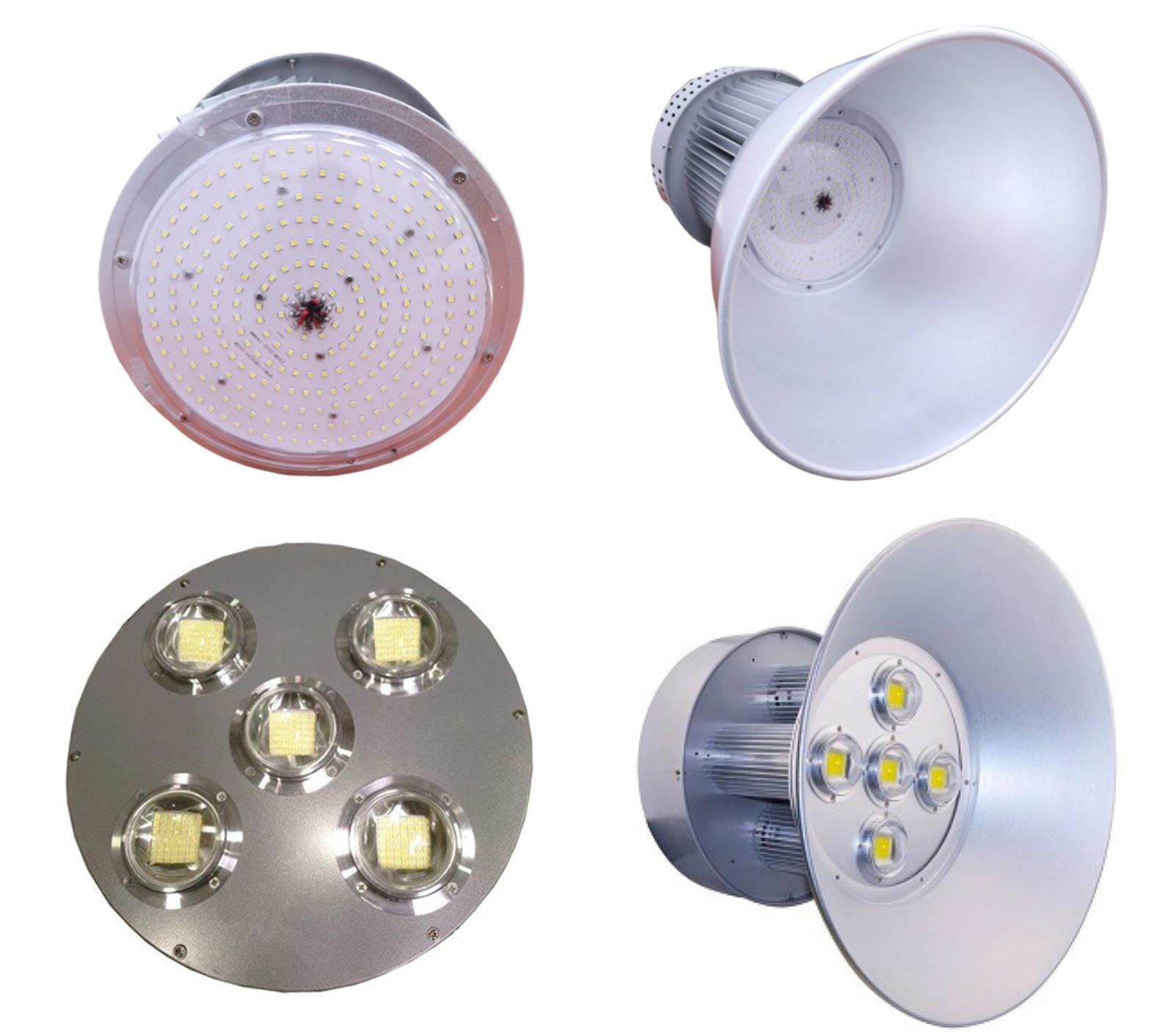 Kiểu dáng phổ biến của đèn LED highbay 250w